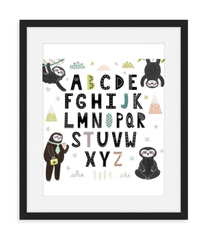 Sloth Nursery Decor