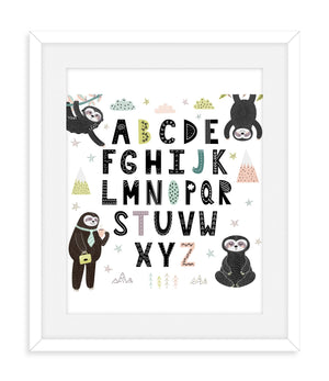 Sloth Nursery Room Decor