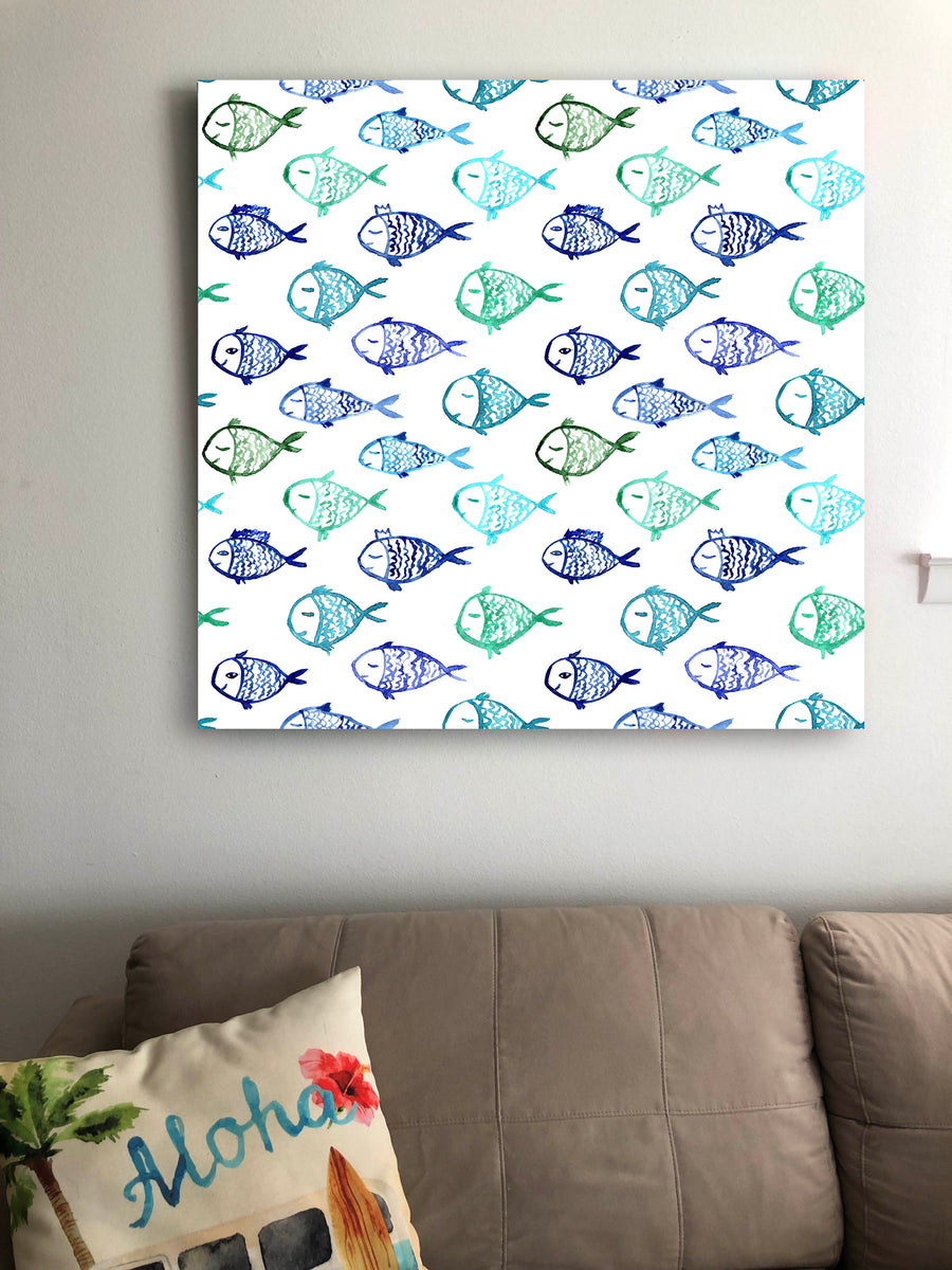 Tropical Fish Wall Art Decor