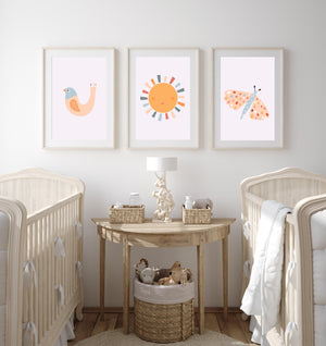 Terracotta Nursery Prints