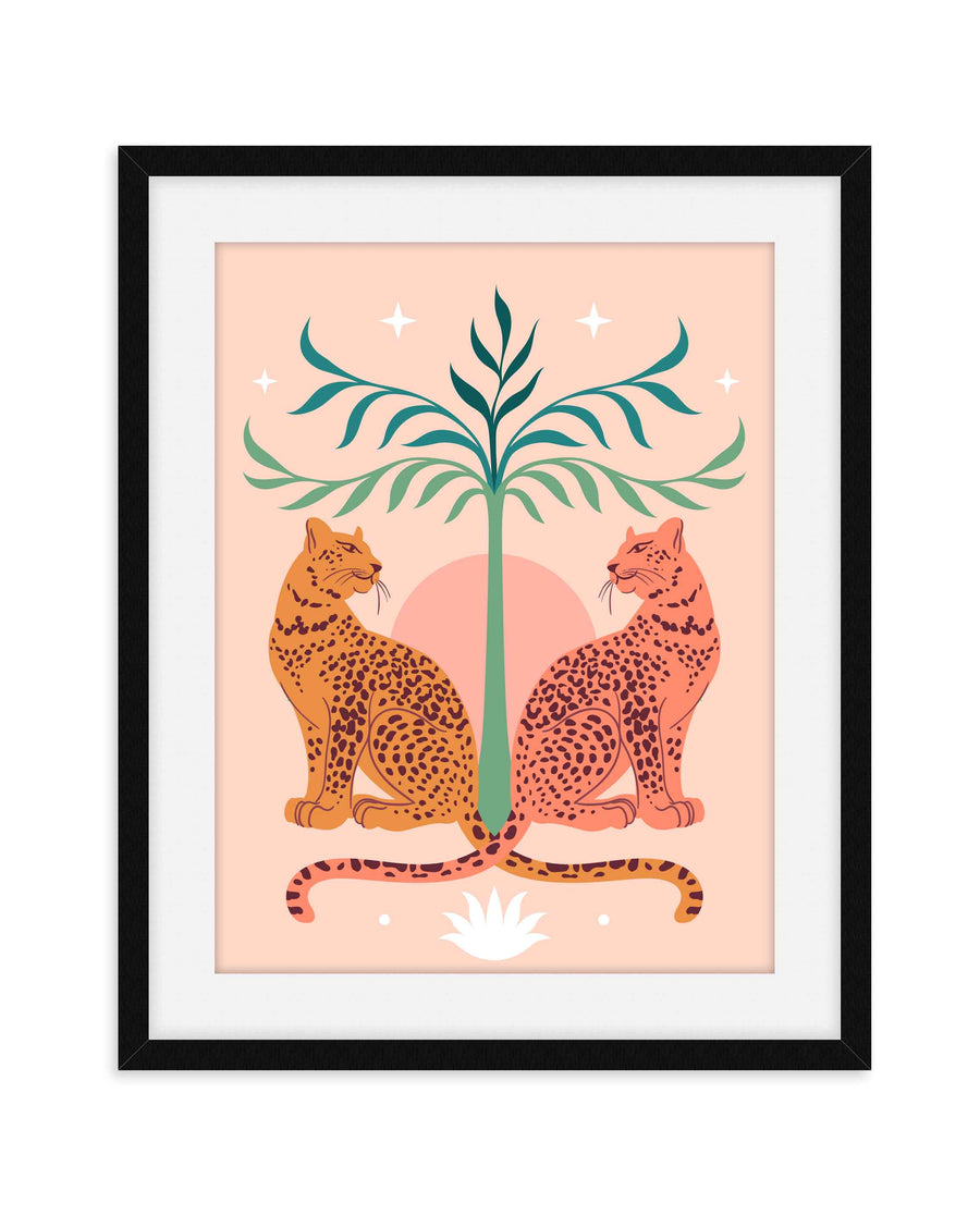 Terracotta Animal Nursery Print