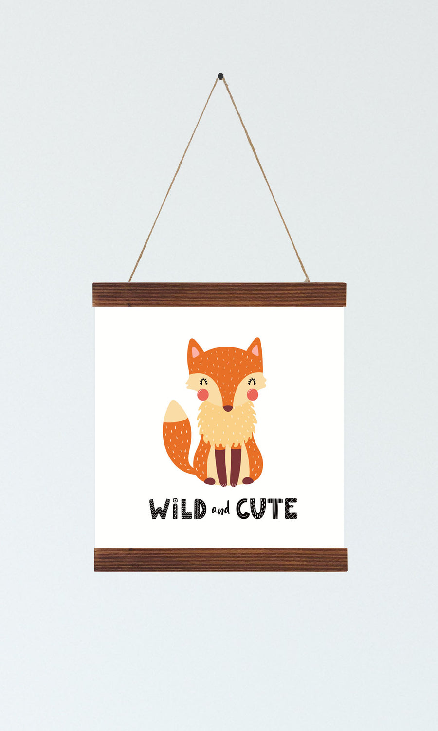 Fox Nursery Wall Art