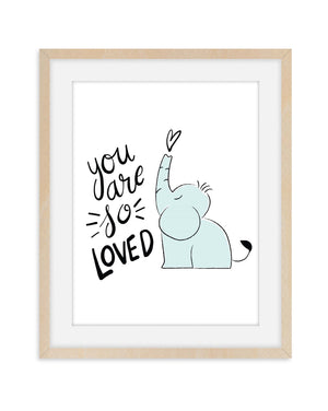 You Are So Loved Nursery Room Decor