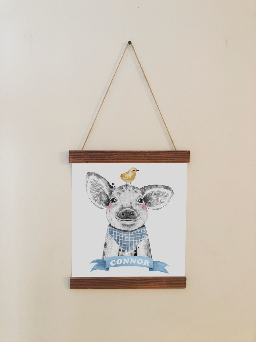 Pig Nursery Room Decor