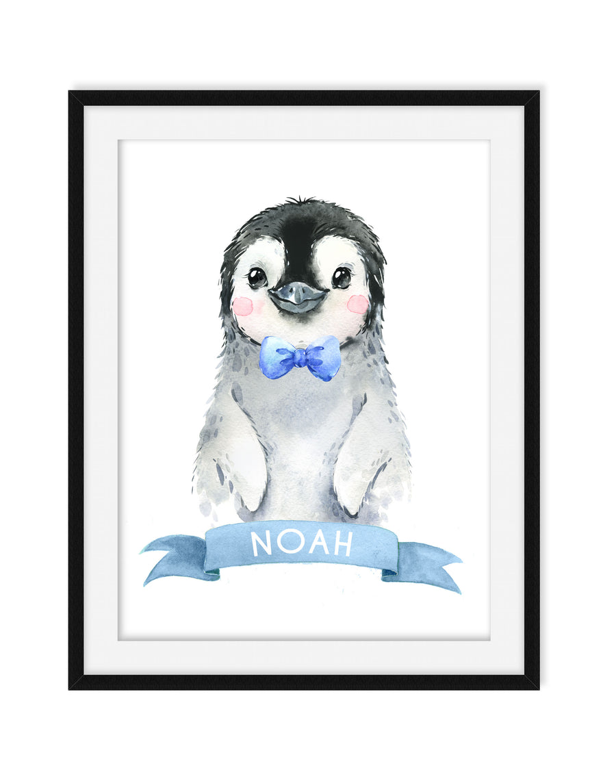PENGUIN NURSEY DECOR