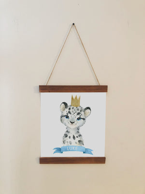 Lion Nursery Room Scroll