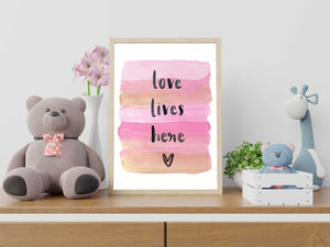 Love Lives Here - Digital Download