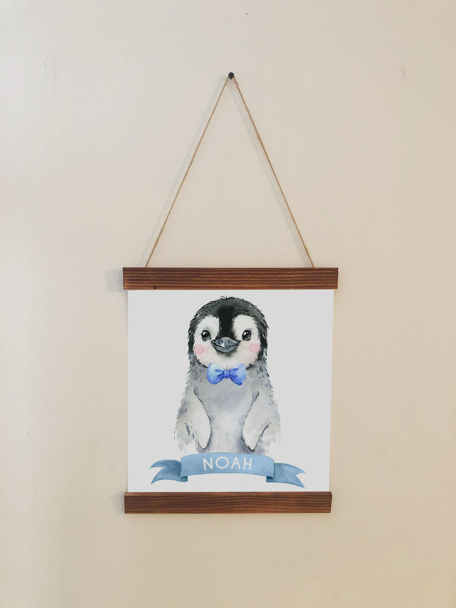 Penguin Nursery Decor