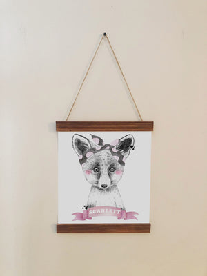 Fox Nursery Room Wall Art