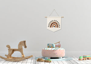 Rainbow Nursery Decor