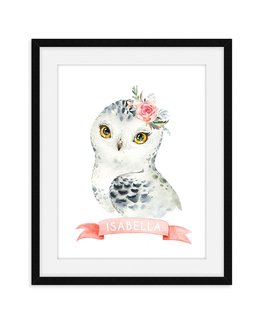 OWL NURSERY ART