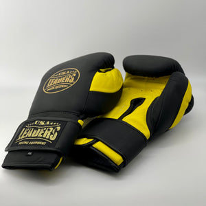 Elite Soft Training Gloves (Black Matte / Yellow Matte)
