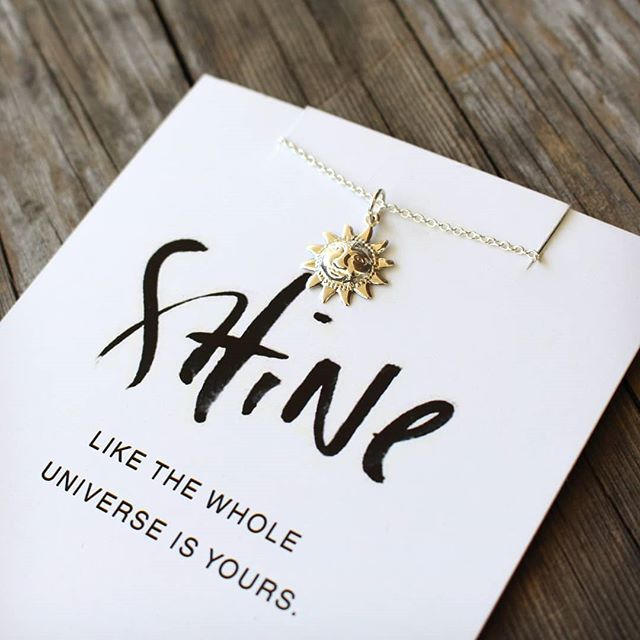 Shine - the story behind the SHINE necklace