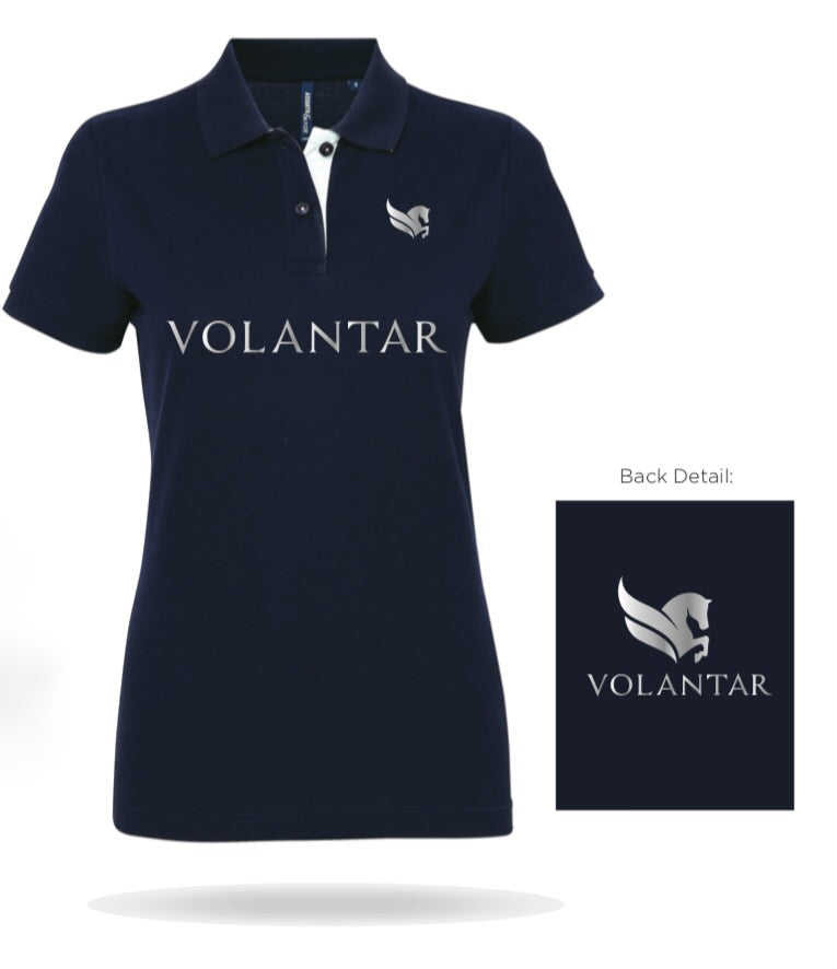 Volantar Polo Shirt Navy
