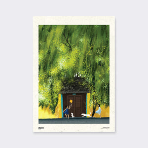 Poster Summer Green by Dom Illustration