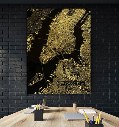 NEW YORK MAP