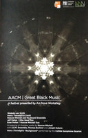 AACM | Great Black Music 2011 Festival Poster
