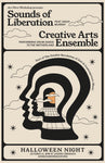 Sounds of Liberation & Creative Arts Ensemble Halloween Poster
