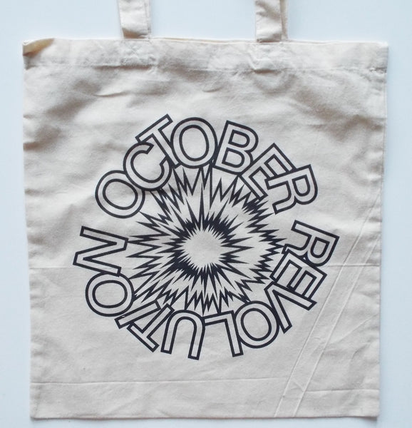 October Revolution Tote Bag (Grey Logo)