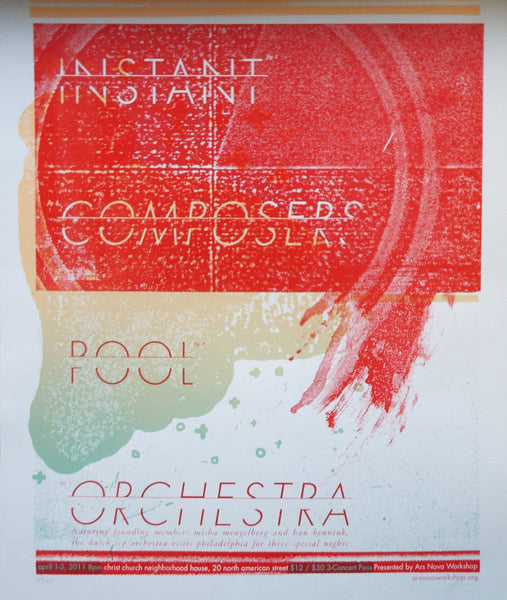 Instant Composers Pool Orchestra Poster