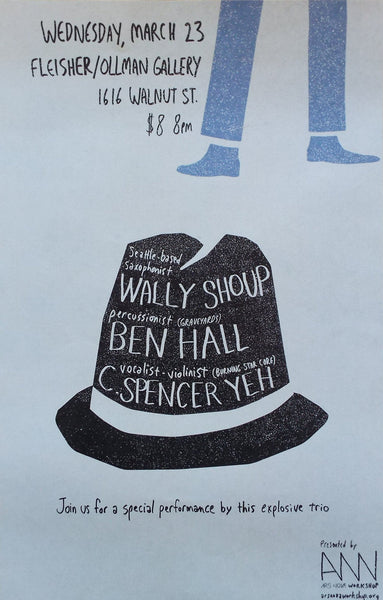 Wally Shoup, Ben Hall, C. Spencer Yeh Poster