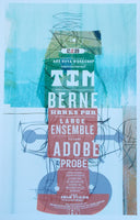 Tim Berne Works for Large Ensemble / Adobe Probe Poster