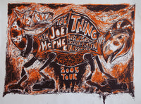 The Thing w/ Joe McPhee 2005 Tour Poster