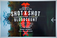 Shot x Shot Performs Blood Count Poster