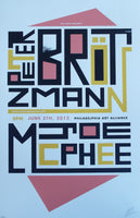 Peter Brötzmann + Joe McPhee June 2013 Poster