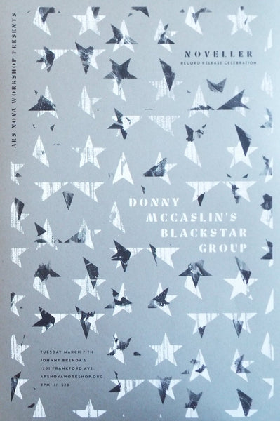 Donny McCaslin's Blackstar Group + Noveller Poster