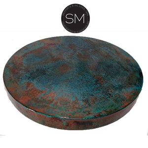 Oxidized Copper Patina Tops | Mexports® Inc by Susana Molina