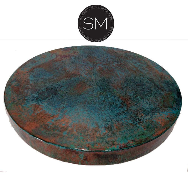 Oxidized Copper Patina Tops