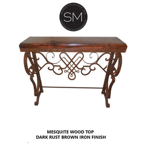 High-End Entry Console Table, Luxurious Entryway Foyer table-Mexports By Susana Molina-Mexports® Inc by Susana Molina