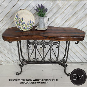 Luxury Reclaimed the best Mesquite Wood Small Console - Mexports® Inc by Susana Molina