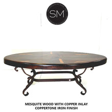 The Best Mesquite Oval Coffee Table Premier Quality-Mexports By Susana Molina-Mexports® Inc by Susana Molina