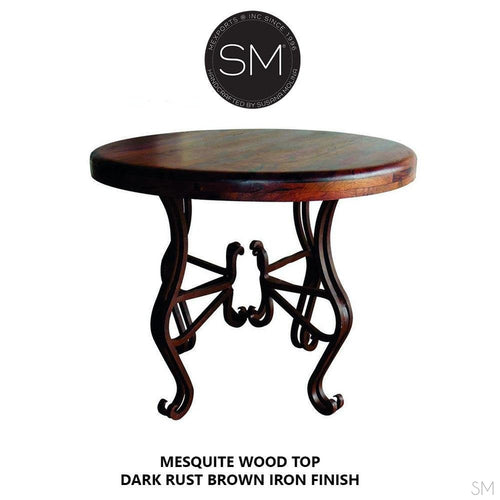 Mesquite Wood Large Occasional Table Model 1242 L - Mexports® Inc by Susana Molina