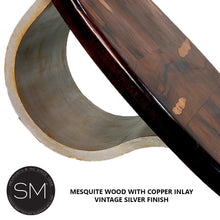 Luxury Mesquite Solid Wood Oval Coffee Table-Mexports By Susana Molina-Mexports® Inc by Susana Molina