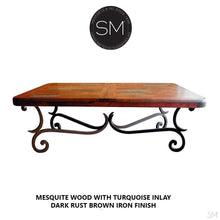 Mesquite Wood Rectangular Coffee Table Model 1215 AA - Mexports® Inc by Susana Molina
