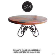 Round Dining table made Reclaimed Mesquite Wood-Mexports By Susana Molina -Mexports® Inc by Susana Molina