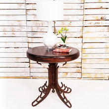 Occasional Table | Large | Mesquite Wood, Wrought Iron Base - Mexports® Inc by Susana Molina