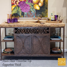 Travertine Buffet Cabinet Model 1236 C - Mexports® Inc by Susana Molina