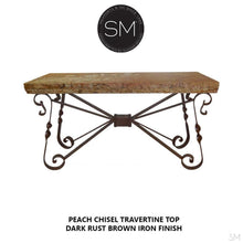 Travertine Console Table Model 1212 C - Mexports® Inc by Susana Molina