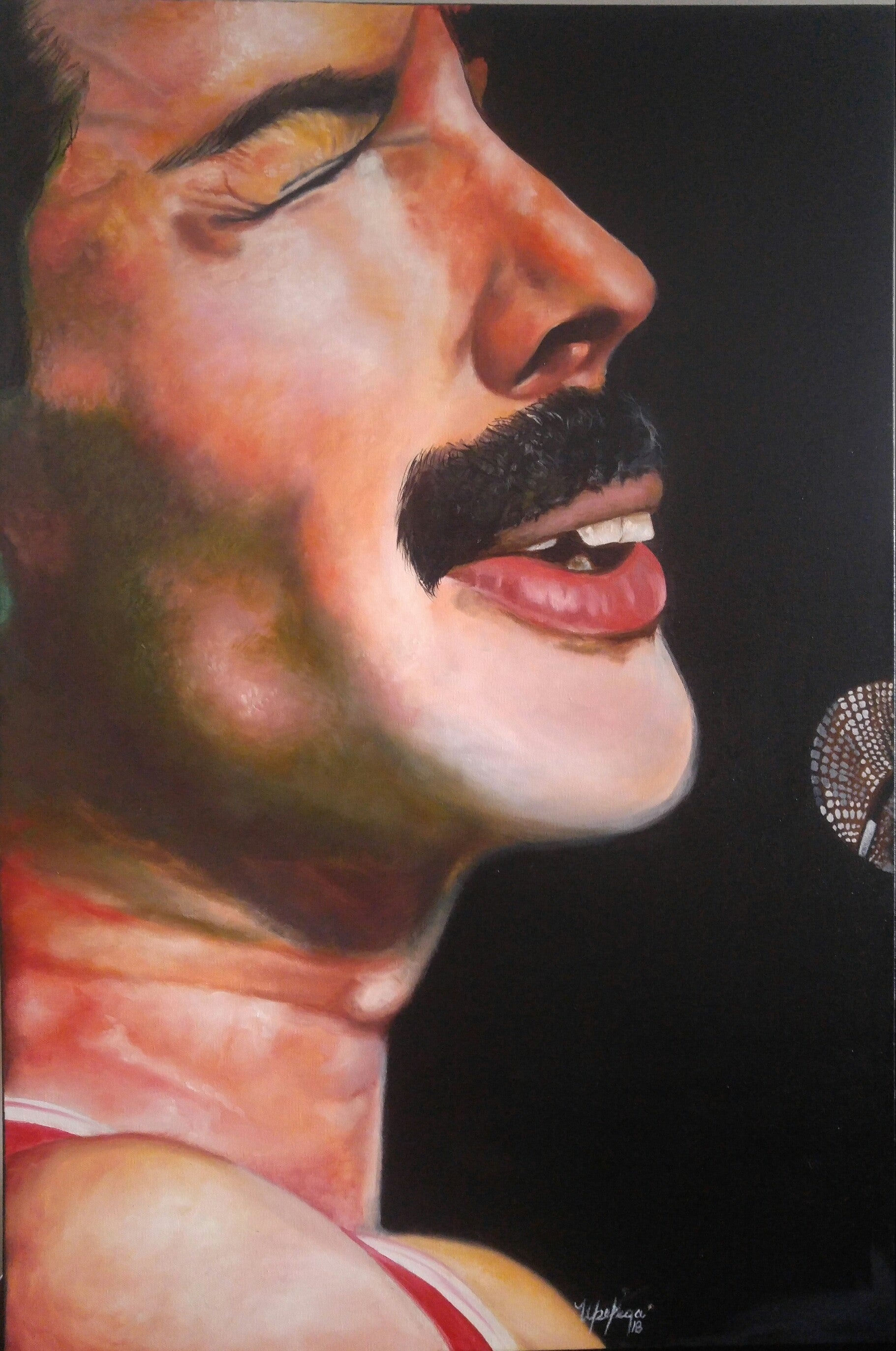 "Face to Face ""Freddy Mercury"" by Bell de la Vega"