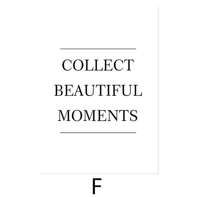 Collect Beautiful Moments Canvas Art Prints