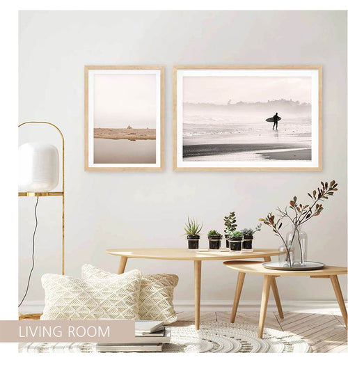 Beach Landscape Canvas Art Prints