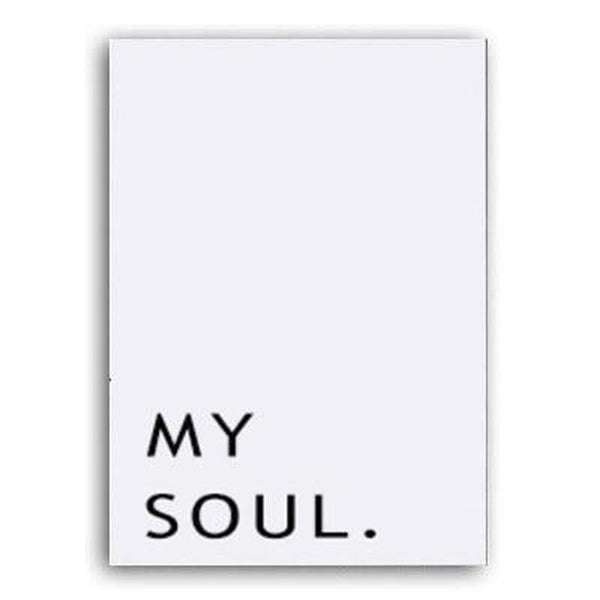 Be Still My Soul Canvas Painting Prints-Heart N' Soul Home-10x15 cm no frame-My soul-Heart N' Soul Home