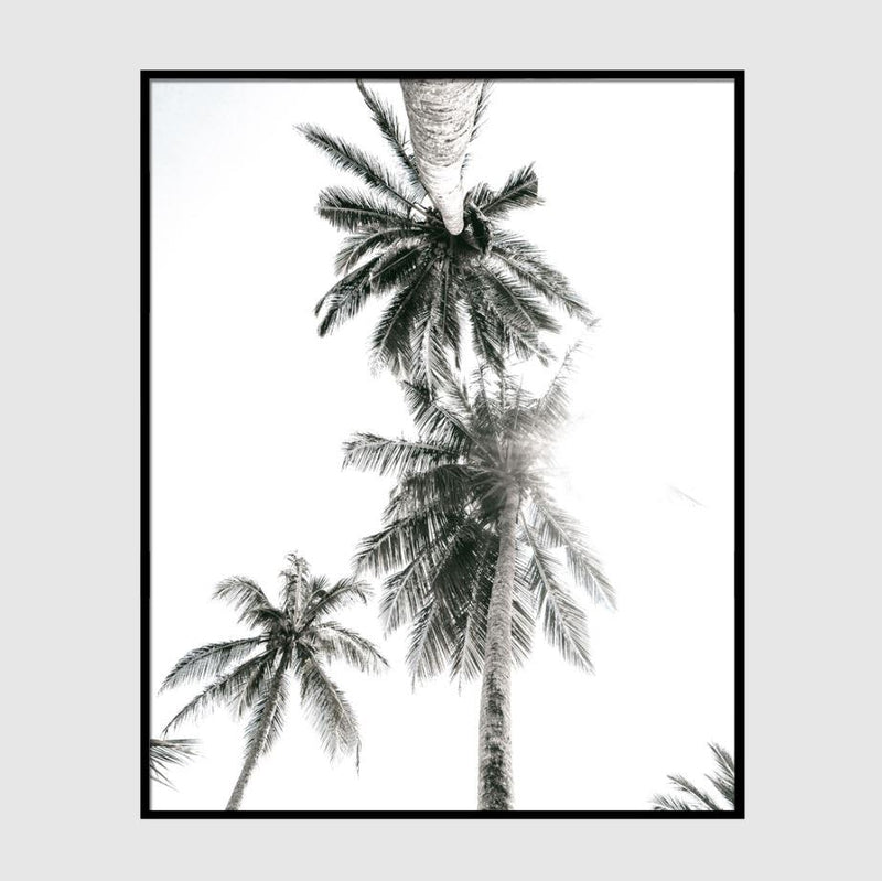 Large Palm Trees Art Print-Heart N' Soul Home