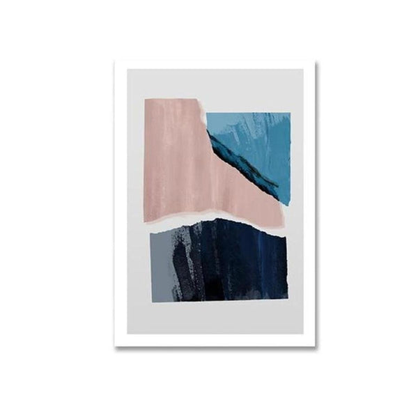 Blake Modern Abstract Art Canvas Painting Prints-Heart N' Soul Home-10x15cm no frame-A-Heart N' Soul Home