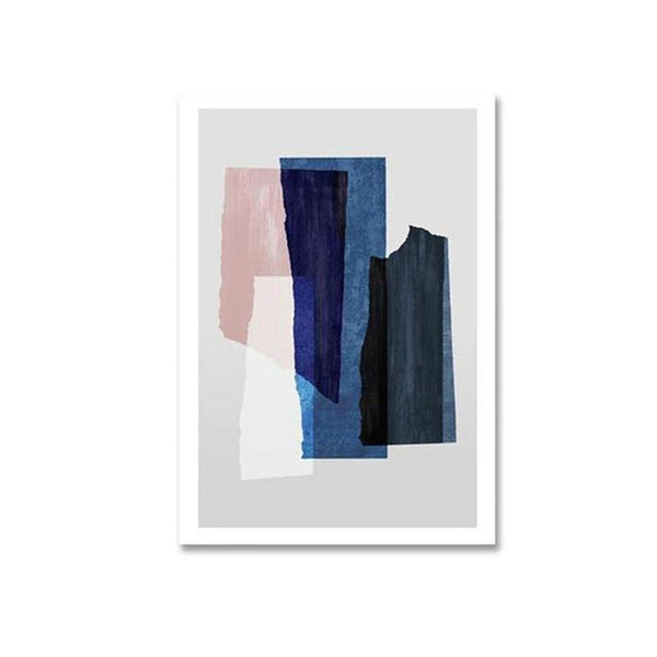 Blake Modern Abstract Art Canvas Painting Prints-Heart N' Soul Home-10x15cm no frame-B-Heart N' Soul Home