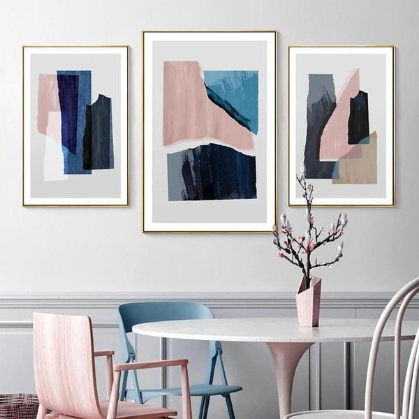 Blake Modern Abstract Art Canvas Painting Prints-Heart N' Soul Home-Heart N' Soul Home